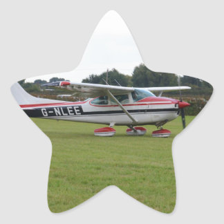 Cessna 182Q Star Sticker
