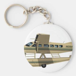 Cessna 208 Caravan II Basic Round Button Key Ring
