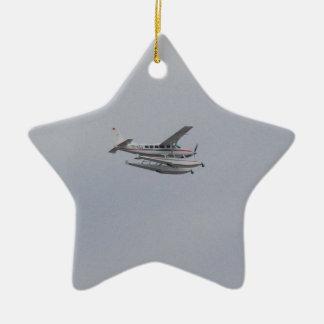 Cessna 208 Caravan Seaplane Ceramic Star Decoration