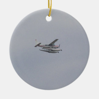 Cessna 208 Caravan Seaplane Christmas Ornament