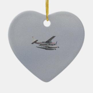 Cessna 208 Caravan Seaplane Christmas Ornament