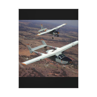 Cessna 337, 1967 and_Classic Aviation Canvas Print