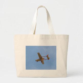 Cessna 337G Super Skymaster Large Tote Bag