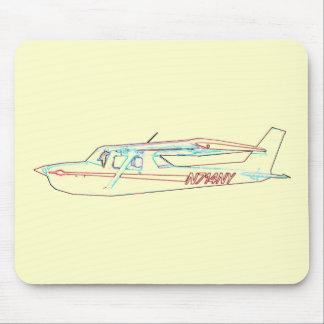 Cessna in Flight Mouse Mat