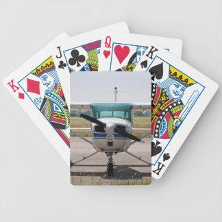 Cessna light aircraft bicycle playing cards