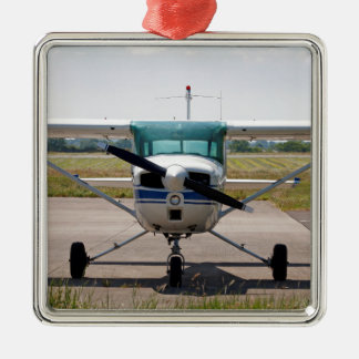 Cessna light aircraft christmas ornament