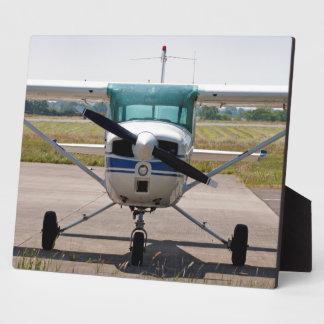 Cessna light aircraft photo plaque
