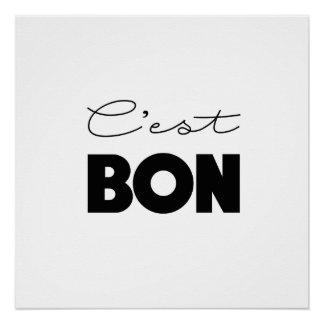 C'est BON poster