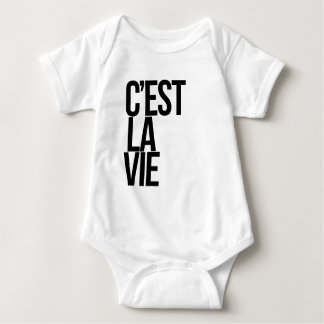 Cest La Vie Baby Bodysuit