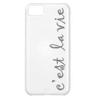 c'est la vie cover for iPhone 5C