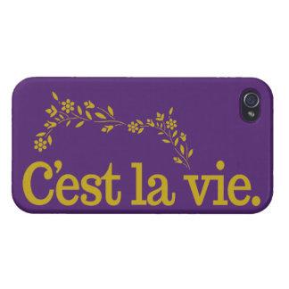 C'est La Vie custom cases iPhone 4 Case