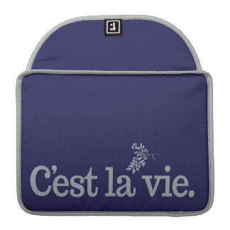 C'est La Vie custom MacBook sleeves