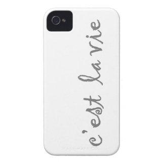 c'est la vie iPhone 4 covers