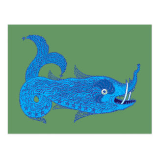 Cetus whale monster Perseus legend whale monsters Post Cards