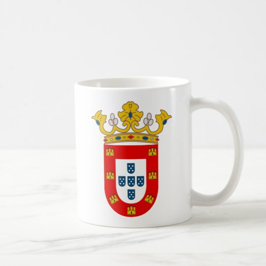 Ceuta Coat of Arms detail Coffee Mug