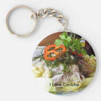 Ceviche Key Ring