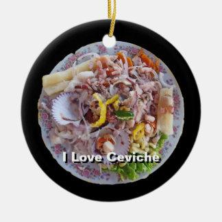 Ceviche - Pride of Peru Christmas Ornament