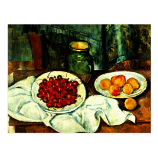 Cezanne - Cherries Postcard