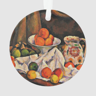 Cezanne - Fruit Bowl, Pitcher and Fruit Ornament