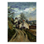 Cezanne - House of Dr. Gachet in Auvers Poster