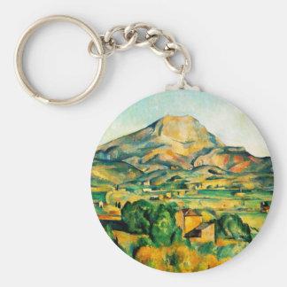 Cezanne Mont Sainte-Victoire Key Chain