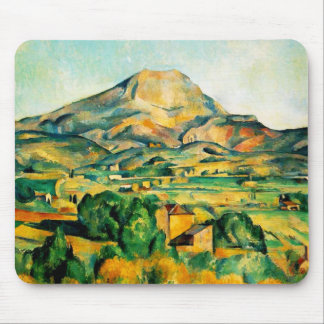 Cezanne Mont Sainte-Victoire Mouse Pad