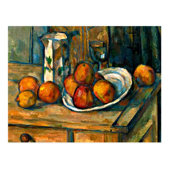 Cezanne - Still Life with Milk Jug and