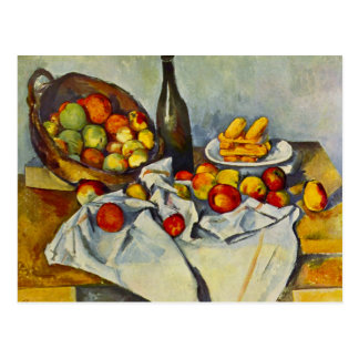 Cezanne The Basket of Apples Postcard