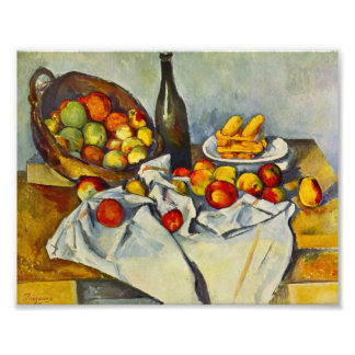 Cezanne The Basket of Apples Print