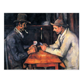 Cezanne - The Card Players (2) Postcard