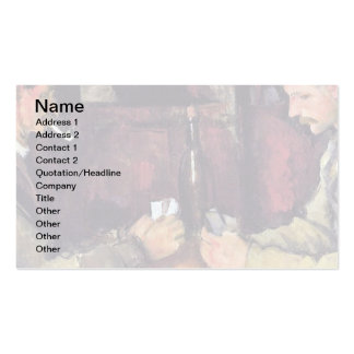 Cezanne - The Card Players - Poker Pack Of Standard Business Cards