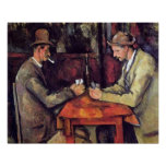 Cezanne - The Card Players - Poker Poster