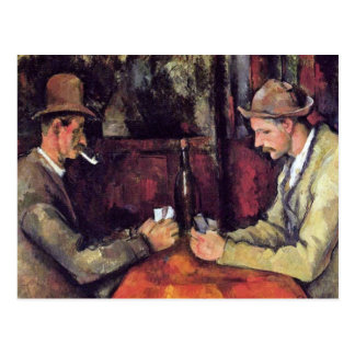 Cezanne - The Card Players Postcards