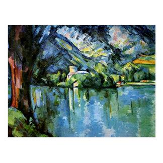 Cezanne - The Lac d'Annecy Postcard