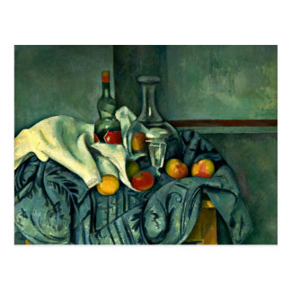 Cezanne - The Peppermint Bottle Postcard