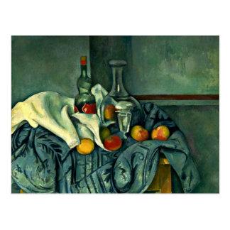 Cezanne - The Peppermint Bottle Postcard