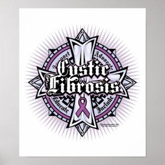 CF Celtic Cross Poster