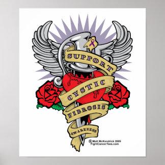 CF Dagger Tattoo Posters