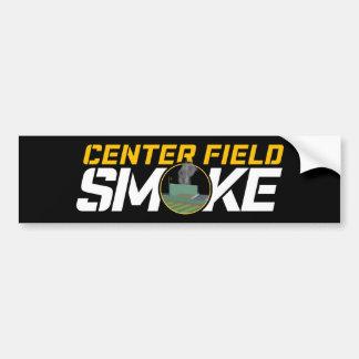 CF Smoke Logo Sticker