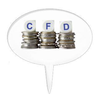 CFD - Contract For Difference Cake Toppers