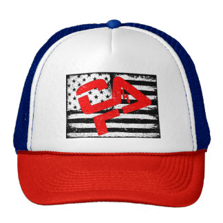 CFHV Red White Blue Trucker Hat