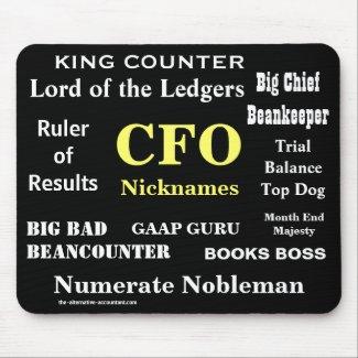 CFO Nicknames Funny Joke Job Titles