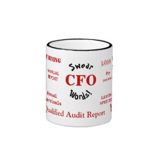 CFO Swear Words! - Rude CFO Mug