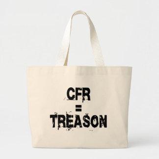 CFR = Treason Jumbo Tote Bag
