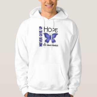 CFS Chronic Fatigue Syndrome Butterfly Hoodie