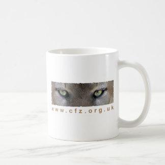 CFZ Big Cat Study Group Eyes Coffee Mugs