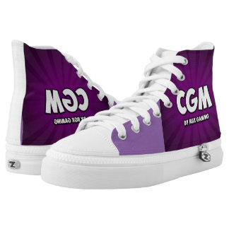 CG Matrix purple shoes