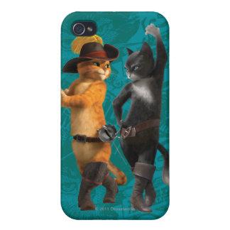 CG Puss Kitty iPhone 4/4S Covers