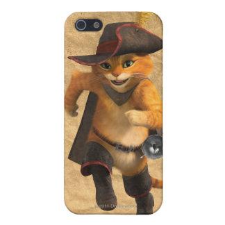 CG Puss Runs iPhone 5/5S Cases