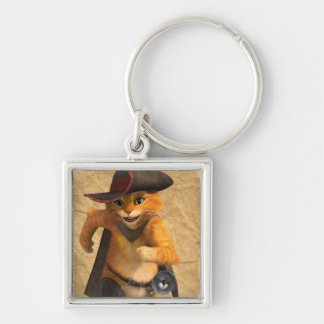 CG Puss Runs Key Ring